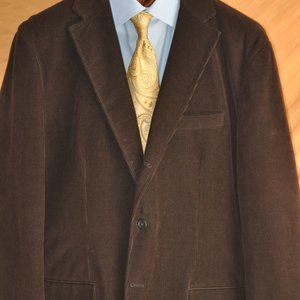 Faconnable Sport Coat Working Sleeve Buttons
